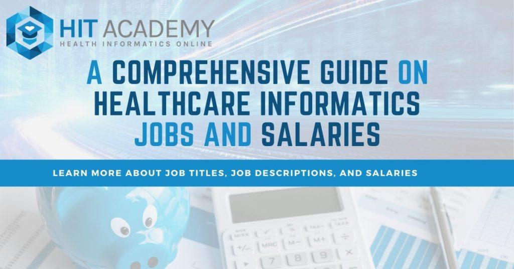 Health informatics jobs banner