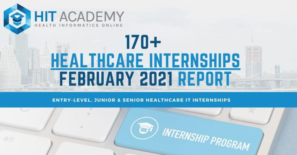 Healthcare internships