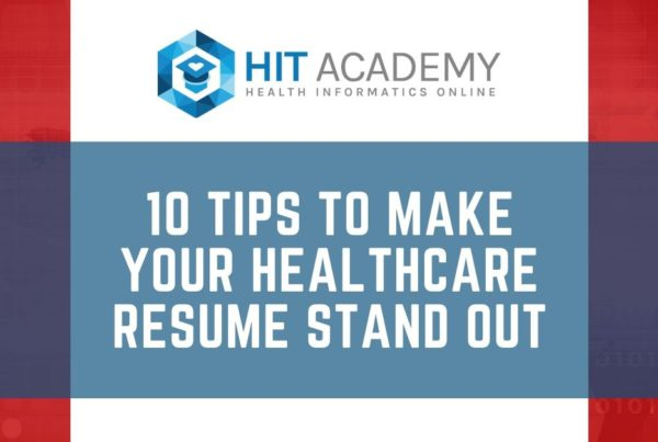 make your healthcare resume stand out