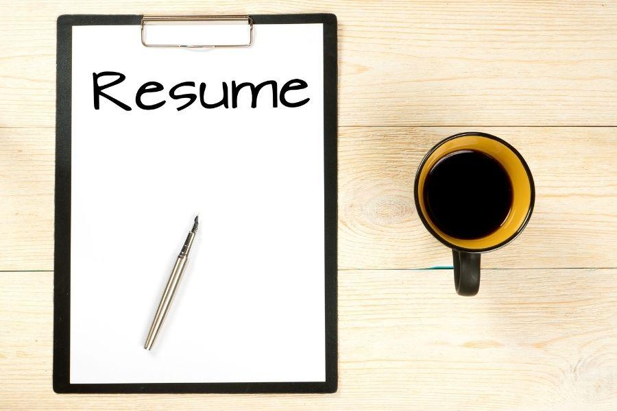 healthcare resume banner