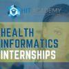 girl looking for health informatics internships